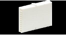 Вентиляционно-осушающая коробочка BAUT 80*60*10 мм, белая фото