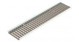 Решетка водоприемная стальная Standartpark Basic РВ-20.24.100-яч.-ст.-оц. 2520 фото