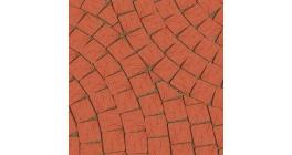 Тротуарная клинкерная брусчатка Lode Janka шероховатая мозайка, 60*60*52 мм фото