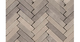 Клинкерная тротуарная брусчатка ручной формовки Penter Lotis onbezand tumbled, 200х50х65 мм фото