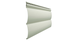 Виниловый сайдинг Docke Premium, Блок-Хаус D4.7T, сливки, 3600*243*1 мм фото