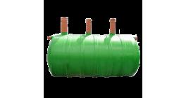 Септик стеклопластиковый трёхкамерный KNS-Group, 1,5 м3 фото