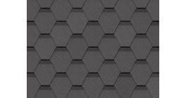 Мягкая кровля DOCKE Standard Сота Серый фото