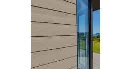 Фиброцементный сайдинг Cedral Click Wood C03 Белый песок, 3600*190*12 мм фото