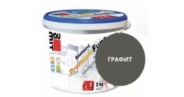 Затирка для швов Baumit Baumacol PremiumFuge графит, 25 кг фото