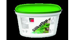 Декоративная штукатурка на силикатной основе Baumit SilikatTop R2.0 короед (Россия), 25 кг фото