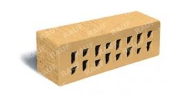 Клинкерный облицовочный кирпич пустотелый ЛСР (RAUF Fassade) Барселона тростник соломенный M300, 250*85*65 мм фото