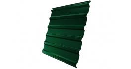 Профнастил фигурный Гранд Лайн (Grand Line) C20, 0,45 PE, зеленый мох фото