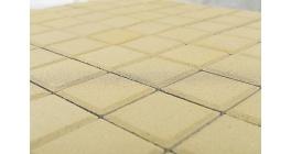 Тротуарная плитка BRAER Лувр песочный, 100*100*60 мм фото