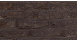 Кирпич ручной формовки облицовочный полнотелый Nelissen Zwart Mangaan 215*102*63 мм фото