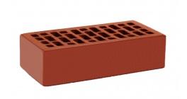 Кирпич керамический облицовочный пустотелый КС-керамик Красный гладкий 250*120*65 мм фото