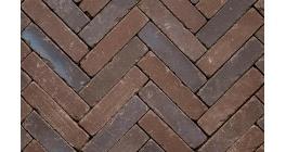 Клинкерная тротуарная брусчатка ручной формовки Penter Doris onbezand tumbled, 200х50х65 мм фото