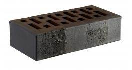 Кирпич керамический облицовочный пустотелый RECKE 5-32-00-0-12 Krator черный 250*120*65 мм фото