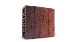 Кирпич керамический облицовочный пустотелый КС-керамик Бавария микс кора дерева 250*120*65 мм фото