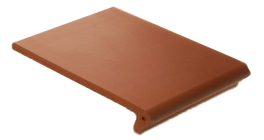 Клинкерная ступень-флорентинер ABC Quaranit Borkum, 345*240*14 мм фото