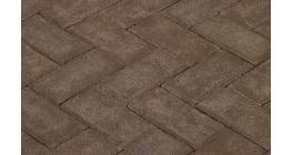 Клинкерная тротуарная брусчатка ручной формовки Penter Mastiekt, 200х100х80 мм фото