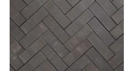 Клинкерная тротуарная брусчатка ручной формовки Penter Eros onbezand, 200х65х65 мм фото