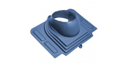 Проходной элемент VILPE PELTI для металлической кровли, синий фото