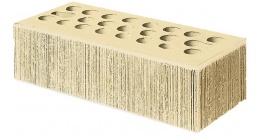 Кирпич керамический облицовочный пустотелый Керма Пшеничное лето УТ.СТ бархат 1NF 250*120*65 мм фото