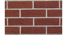 Кирпич клинкерный облицовочный пустотелый ABC 0159 Tecklenburg rot-nuanciert с песком 240*115*71 мм фото
