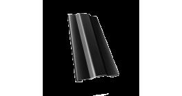 Защелка для кронштейна Гранд Лайн (Grand Line) Granite RAL 9005 черный, D 125/90 мм фото