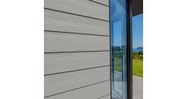 Фиброцементный сайдинг Cedral Click Wood C05 Серый минерал, 3600*186*12 мм фото