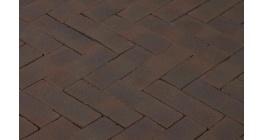 Клинкерная тротуарная брусчатка ручной формовки Penter Ombert, 200х65х85 мм фото