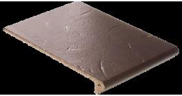 Клинкерная ступень флорентинер ABC Antik Mangan, 335*240*10 мм фото