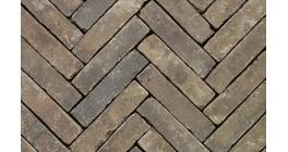 Клинкерная тротуарная брусчатка ручной формовки Penter Incana wasserstrich tumbled, 200х50х85 мм фото