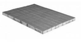 Тротуарная плитка BRAER Прямоугольник Серый, 200*100*40 мм фото