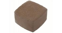 Тротуарная плитка Меликонполар Классика-1 1К.6 коричневый 3%, 115x115x60 мм фото