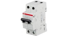 Автоматический выключатель ABB SH202L двухполюсный 10А тип С 4.5кА фото