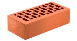 Кирпич керамический облицовочный пустотелый Голицынский КЗ Бавария красный риф 250*120*65 мм фото