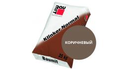 Цветной кладочный раствор для лицевого кирпича Baumit Klinker Normal коричневый, 25 кг фото