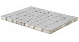 Тротуарная плитка BRAER Классико Серебристый, 60 мм фото